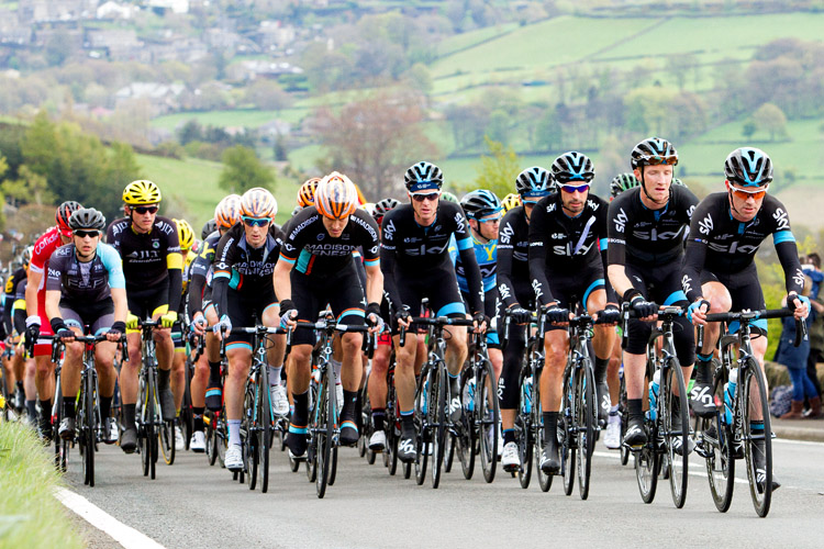 Peleton on Greenfield Road
