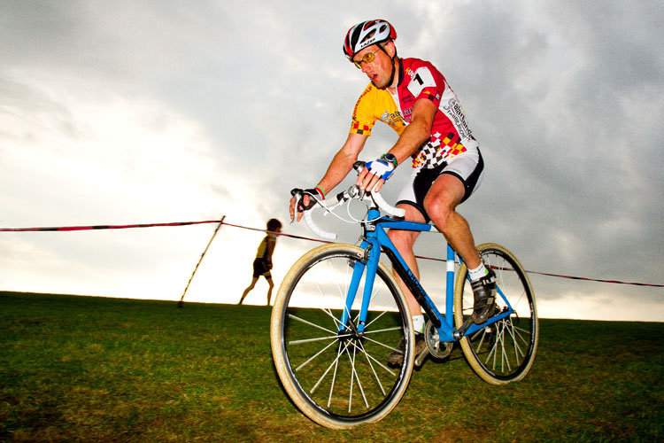 Andy racing Cyclo Cross